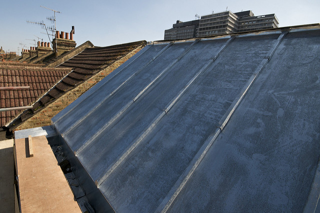Remplacement toiture zinc à Calais